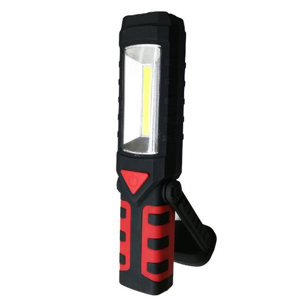 USB Rechargeable LED COB Camping Light Emergency Flashlight with Magne
