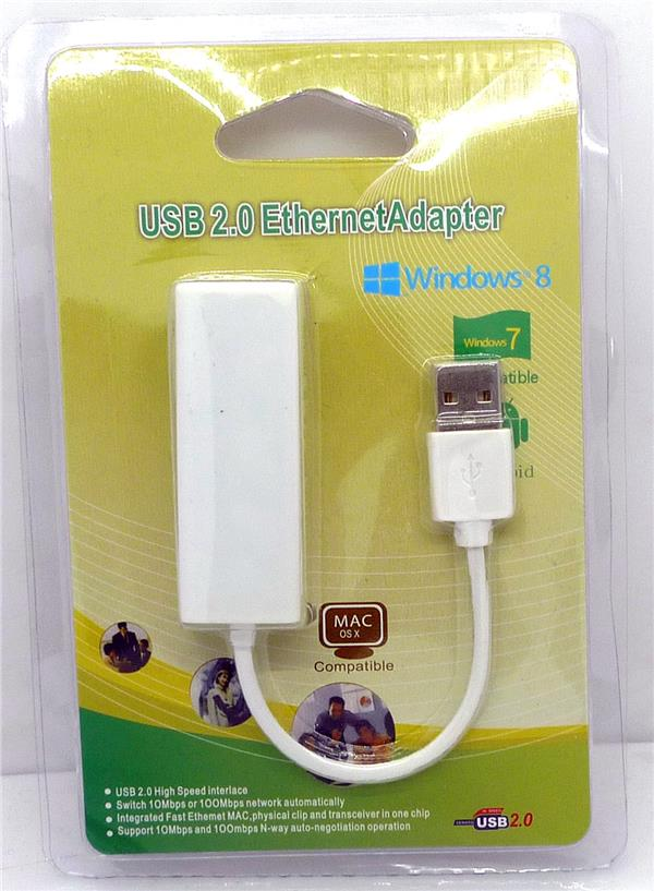 USB to Lan RJ45 Network Ethernet Adapter Android Win 7 8 10 XP 9700 Mac