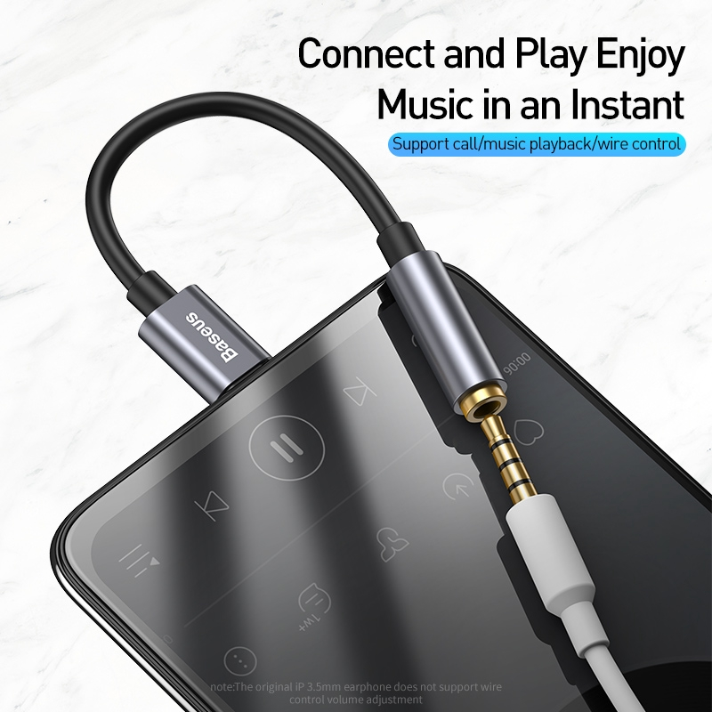 USB Type C 3.5mm Auxiliary Adapter USBc 3.5mm Jack Headphone  - [GRAY]