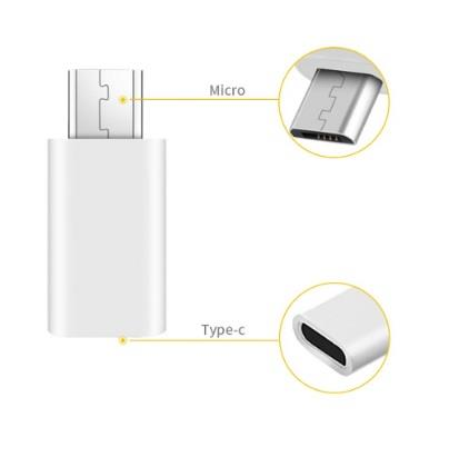 USB Type C Female to Male USB Micro-B Connector