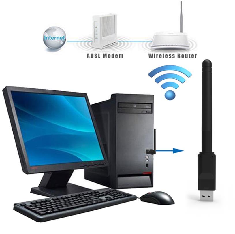 USB WIFI DONGLE ADAPTER f5 f3 v7 z5 x5 v8 alpha freesat v7 combo tvbox