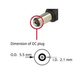 USB2.0 A Male to DC Connector 5.5x2.1mm