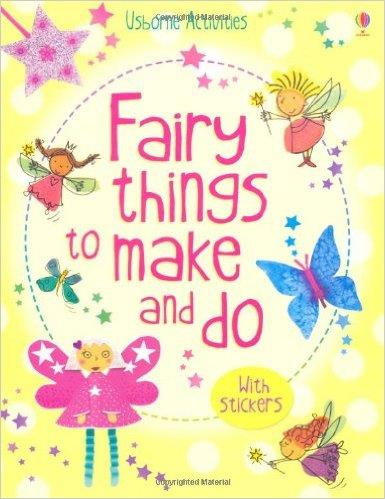 Usborne Activity Book - Fairy Things to Make & Do / Children Gift