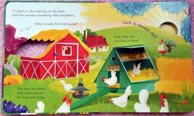Usborne Peep Inside Farm