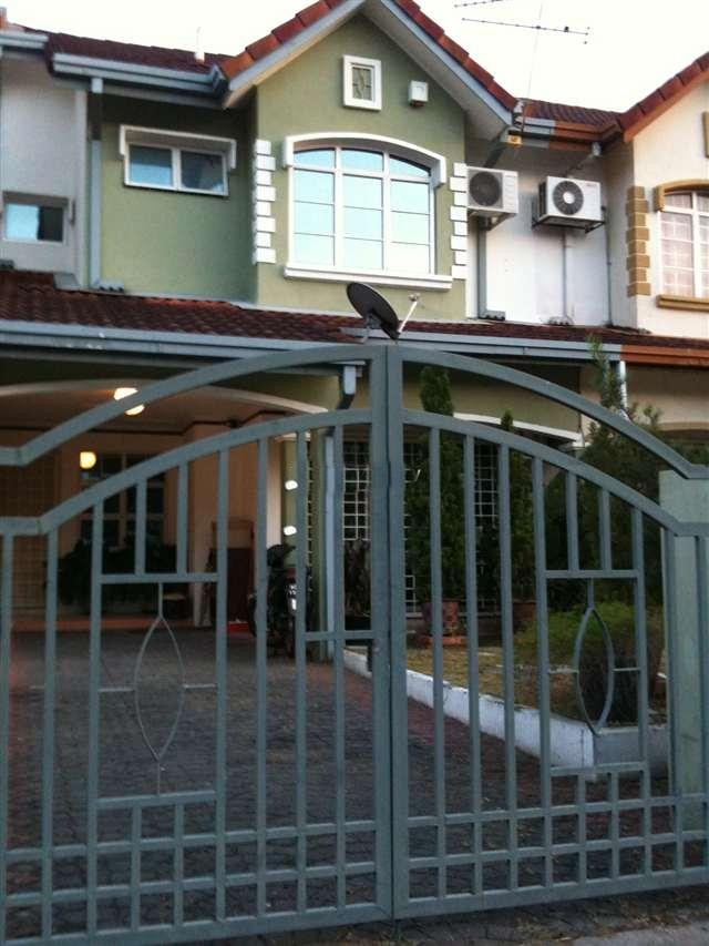 USJ 20 2 storey terrance house subang jaya renovated partly furnished
