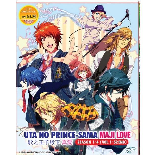 UTA NO PRINCE SAMA Maji Love 1000% 2000% + Revolutions Season 1-4 Anim