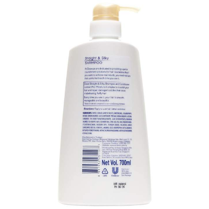 UU Dove Nutritive Solutions Straight &Silky Shampoo with Pro-Moisture