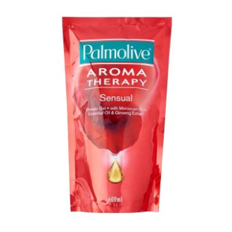 UU Palmolive Aroma Therapy Sensual Shower Gel Refill Pack 600ml TC