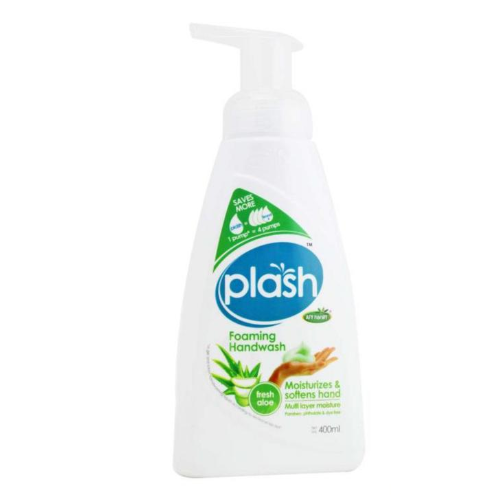 UU Plash Foaming Handwash Fresh Aloe 400ml