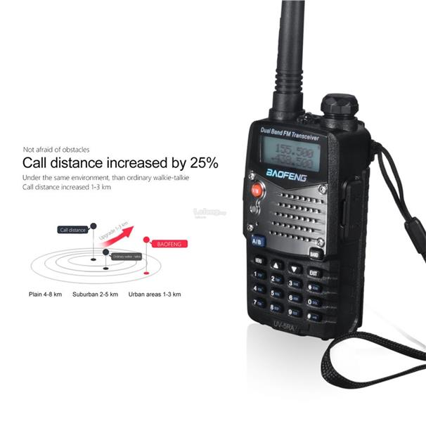 UV-5RA Professional Hand-held Transceiver Radio Receiver Walkie-talkie