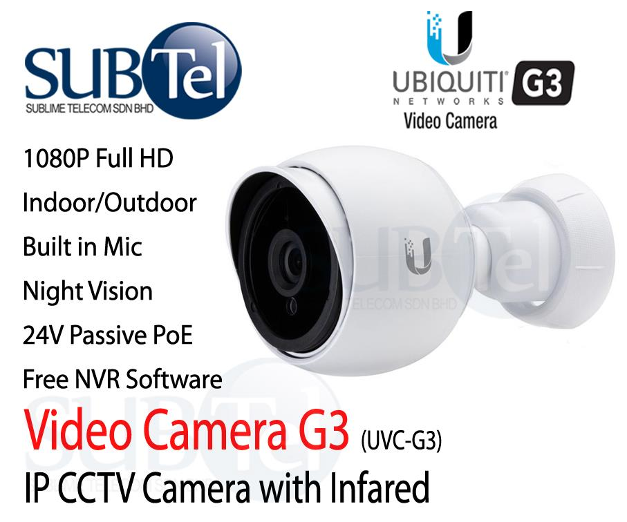 UVC-G3 Ubiquiti Video Camera Outdoor Full HD IP CCTV UBNT 1080p