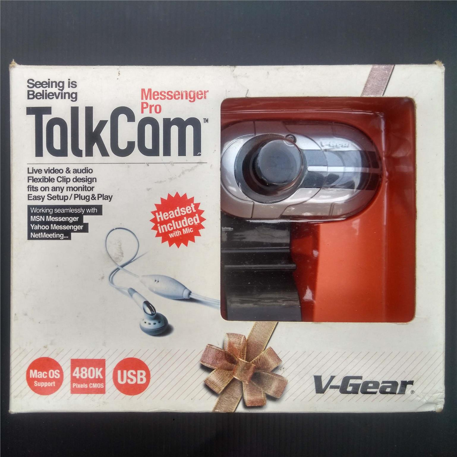 NEW DRIVERS: V-GEAR TALKCAM MESSENGER PRO