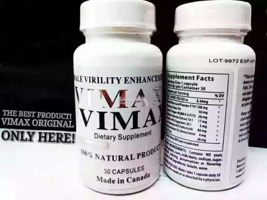 v i m a x canada 100 original lot 9 end 4 3 2017 11 15 pm