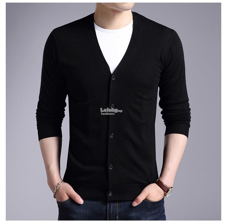 v neck long sleeved thin bottoming s (end 1 4 2020 10 15 pm) Strickjacke Hoodie Maenner Kleidung Strickjacke C 10_15 #13