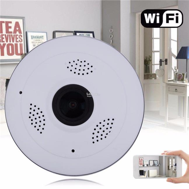 V380S Mini CCTV Panoramic Wireless WiFi IP Fisheye Camera 960P HD Home