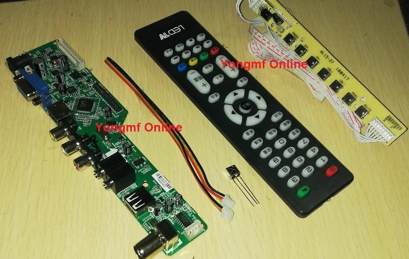 V56RJ Universal LED LCD TV Controller Driver Board (CB-010)