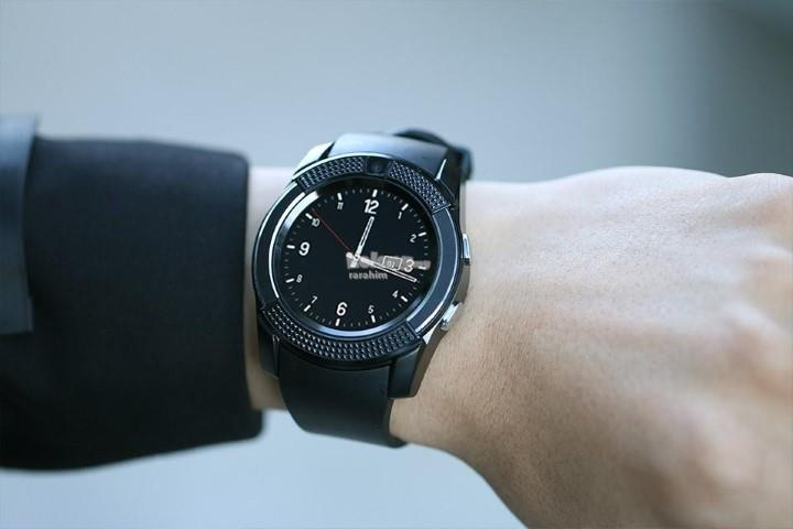 V8 Smart Watch Clock With Sim TF Card Slot Bluetooth: Best Price in Malaysia