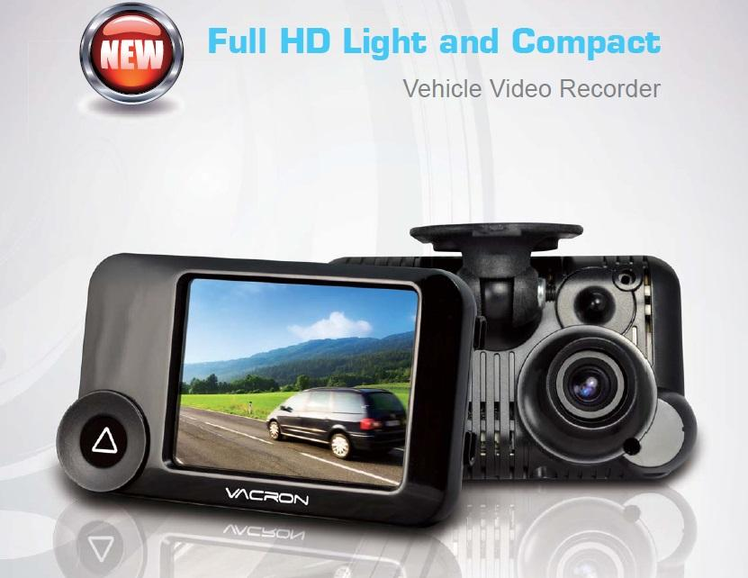 Vacron VVG-CBN11 720P 30FPS HD Vehicle Video Recorder with G-Sensor