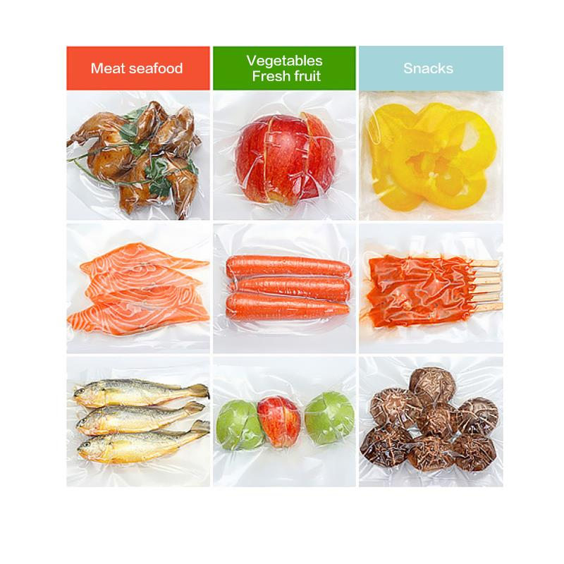 Vacuum Bags Sealer Bags For Food Vegetable Keep Fresh 10pcs