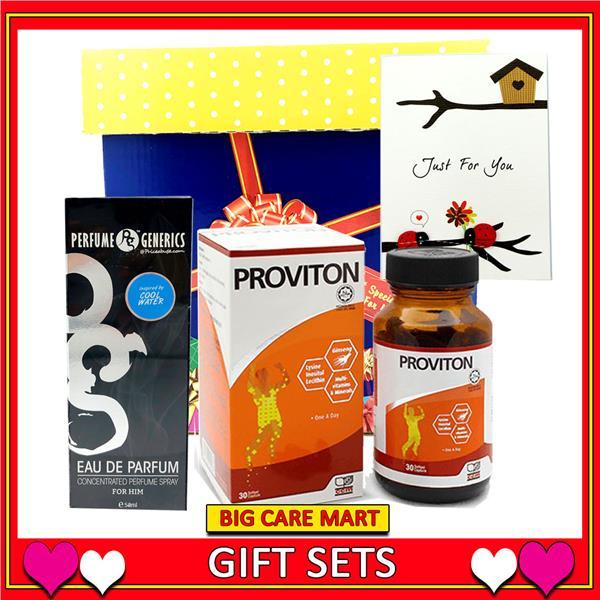 Valentine Gift for Men : Proviton Multivitamin + Perfume Set