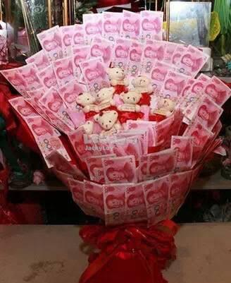 Valentine/ Mother Gift - Money Flower / Bouquet
