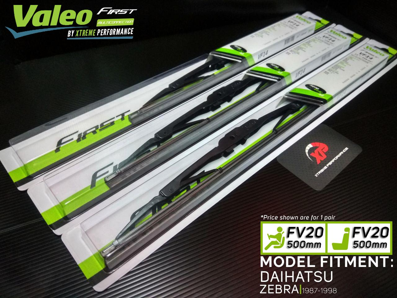 Valeo First Windshield Wiper Blades For DAIHATSU ZEBRA (1987-1998)