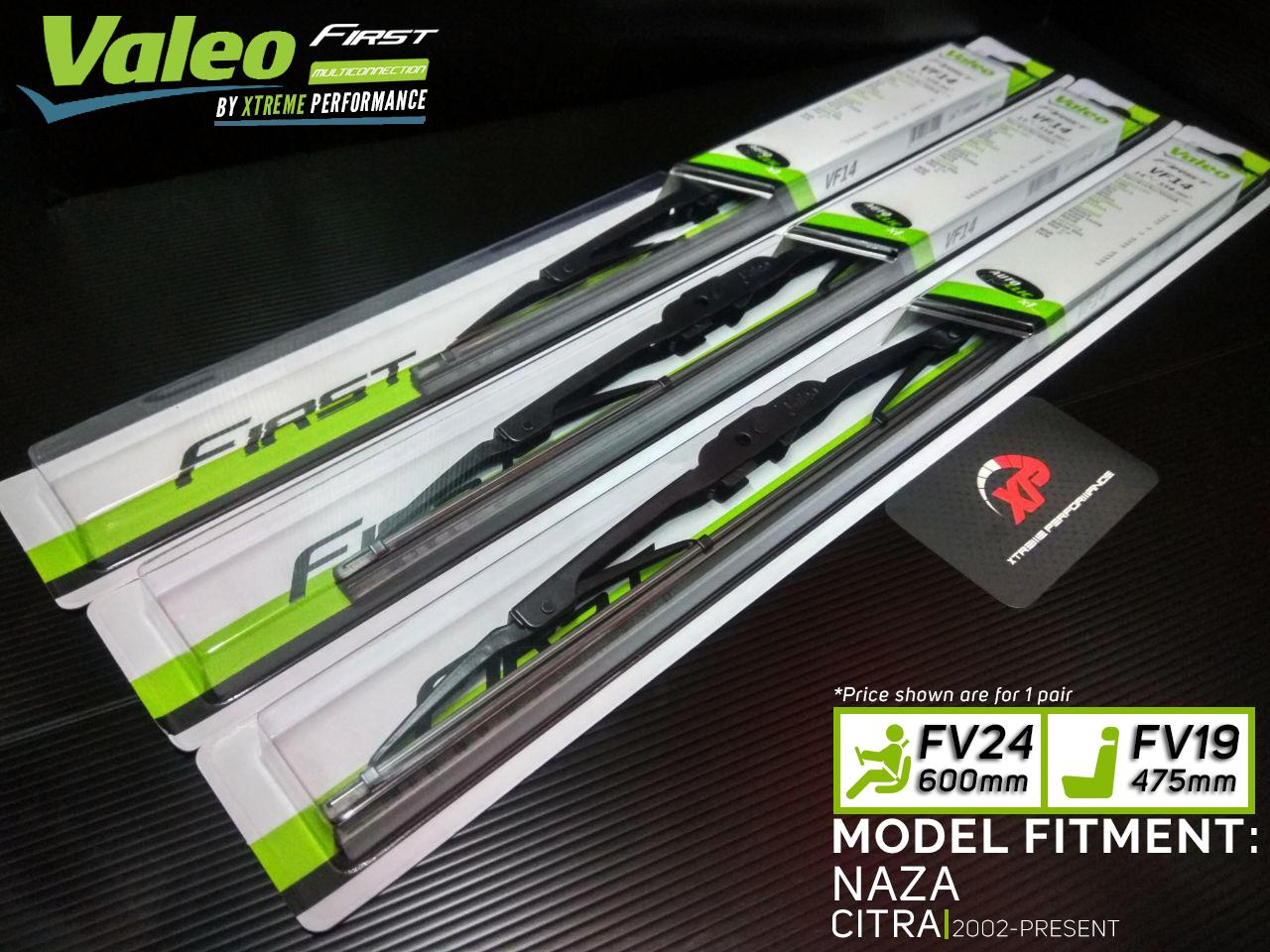 Valeo First Windshield Wiper Blades For NAZA CITRA (2002 - PRESENT)