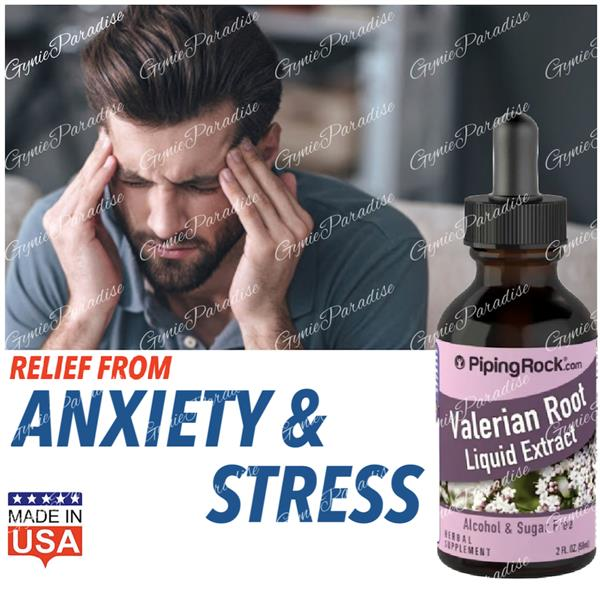 Valerian Root 59ml Liquid, (Anxiety, Insomnia, Sleep) Made in USA
