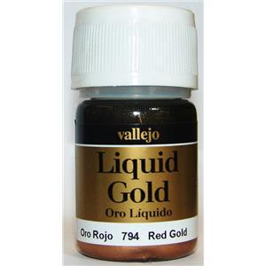Vallejo Liquid Gold - Red Gold 35ml 70.794