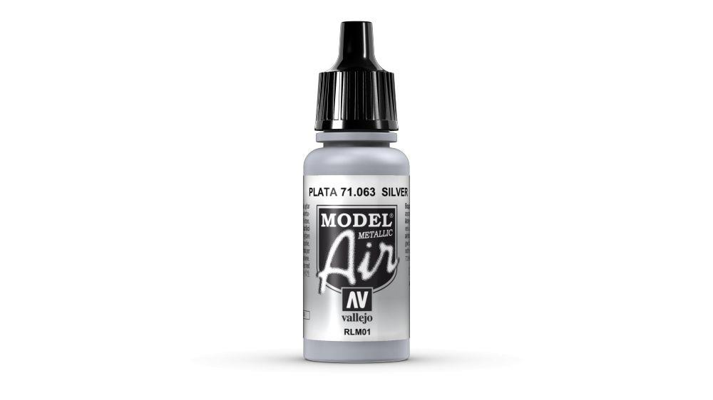 Vallejo Paint - Model Air 71.063 Silver