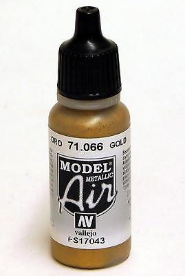 Vallejo Paint - Model Air 71.066 Gold