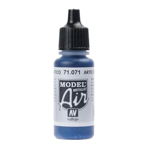 Vallejo Paint - Model Air 71.071 Artic Blue Metallic
