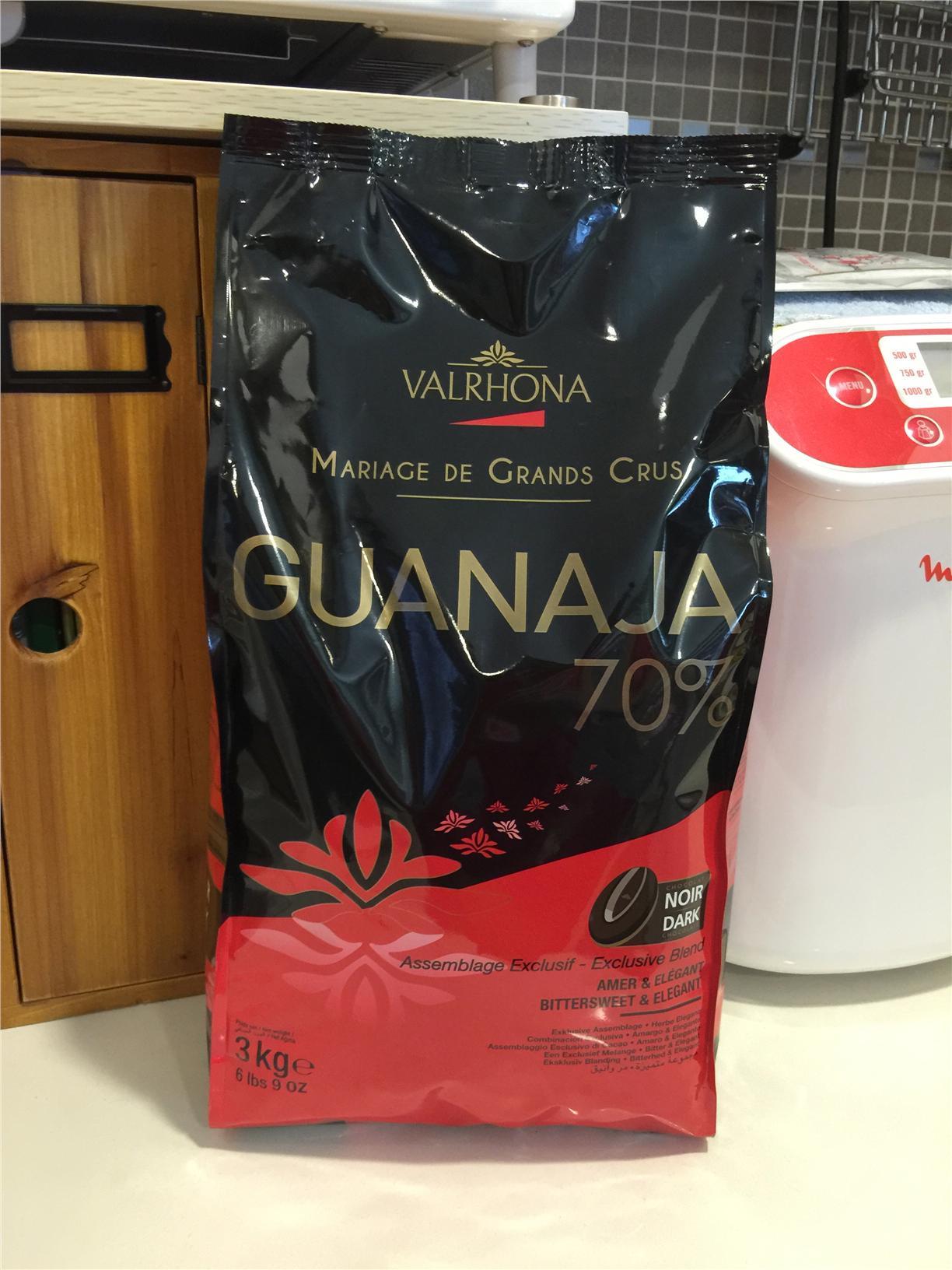 Valrhona Guanaja 70% dark chocolate (end 6/30/2015 5:15 PM)