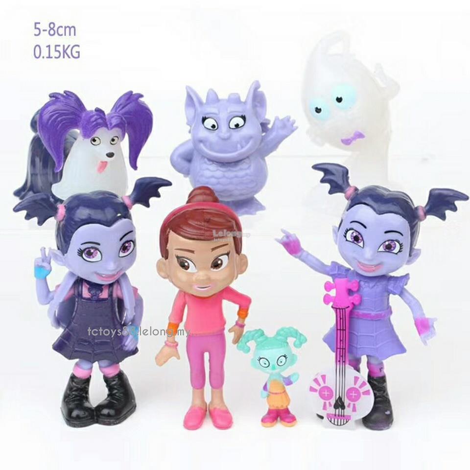 Vampirina Figures Vampire Toys Cake Topper 9 Pcs Set. U2039 U203a