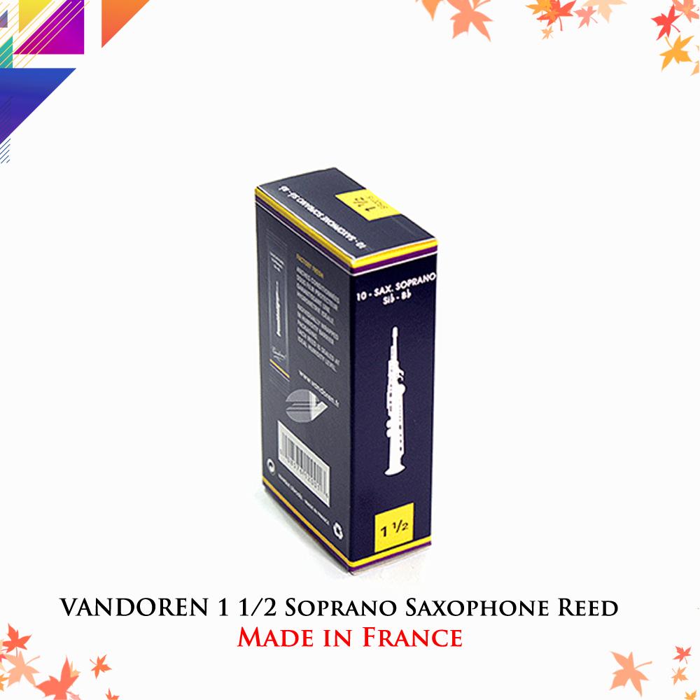 VANDOREN 1-1/2 Soprano Saxophone Reed (1/piece)