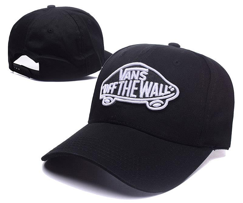 Vans Off The Wall Man Woman Hip Hop Baseball Cap with adjustable strap