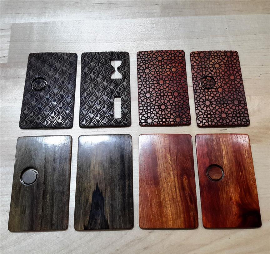 Vape Billet Box Custom Thin Wood Sleeve by TouchDIY production