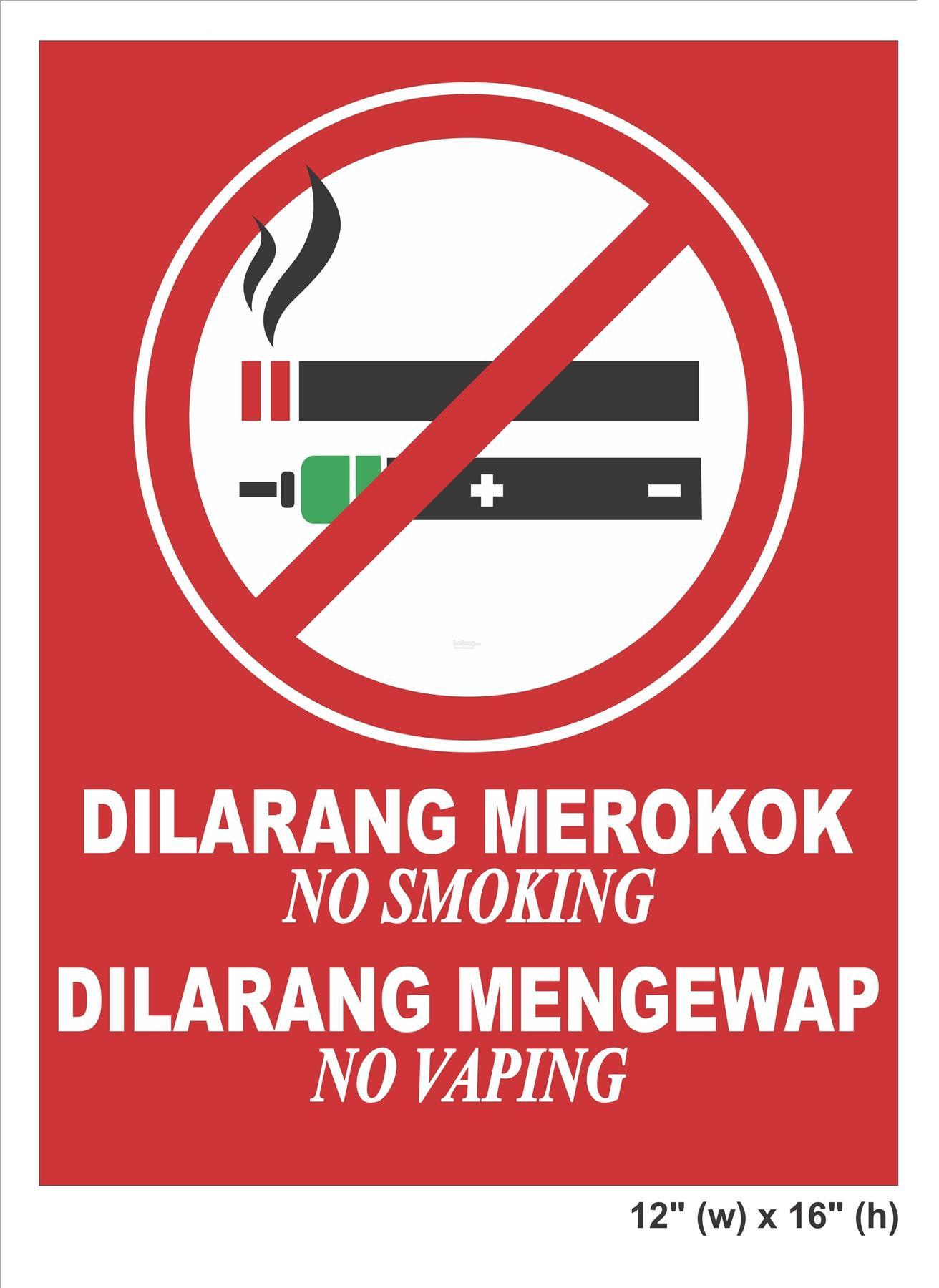 No Vaping Amp No Smoking Signboard 1 End 12 11 2018 2 15 Pm