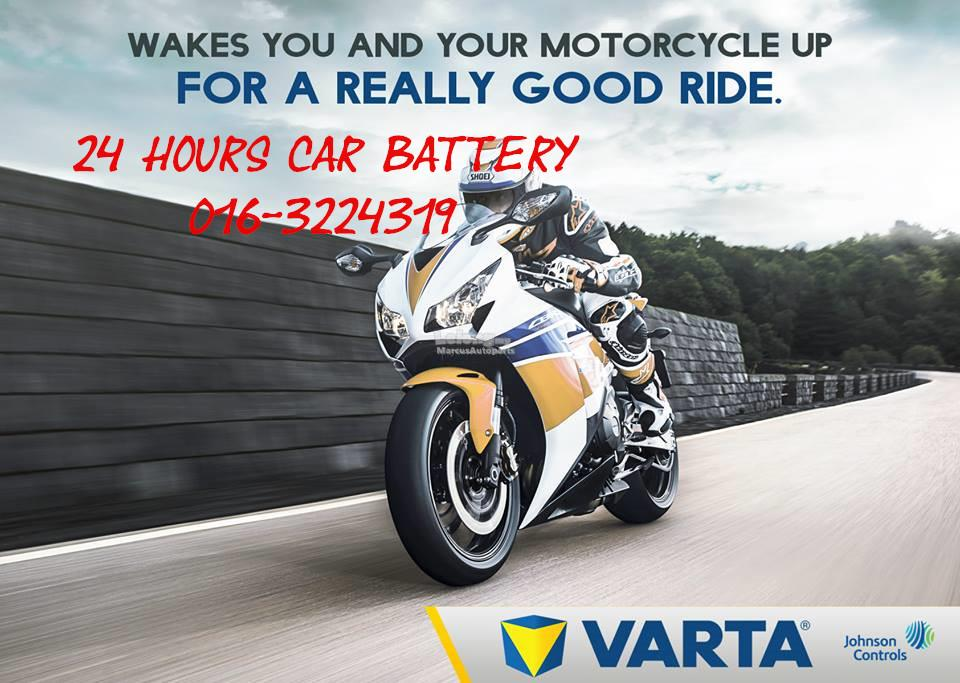 c923c80db2d VARTA POWERSPORTS AGM YTX14-BS (512 014 010) AUTOMOTIVE BACKUP BATTERY