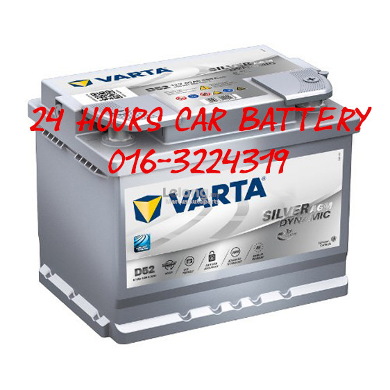 VARTA SILVER DYNAMIC STARTSTOP AGM D52 DIN60 (560 901 068) CAR BATTERY