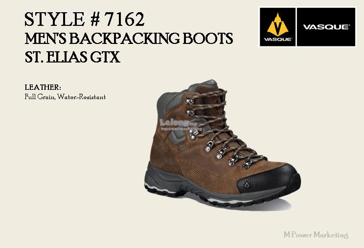03326e87801 Vasque Men's Backpacking Boots ST Elias GTX America shoes 7162
