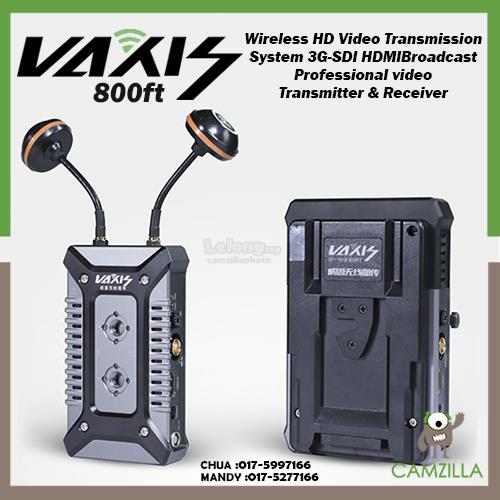 VAXIS STORM 800FT Wireless HD Video Transmission System 3G-SDI HDMI