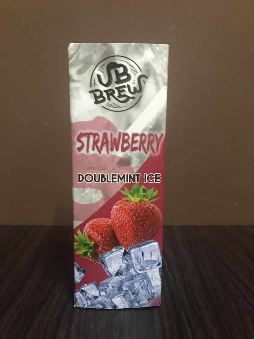 VB Brew Strawberry Doublemint Ice (6MG @ 60ML)E Liquid Vape Juice