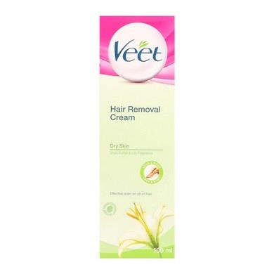 Veet Hair Removal Cream Dry Skin 100ml X 4