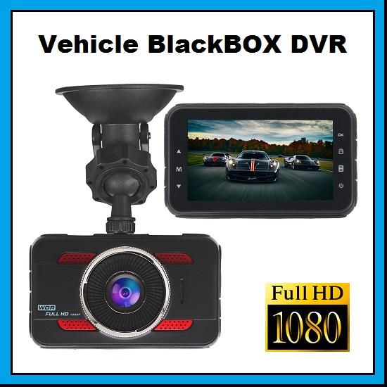 Vehicle BlackBOX DVR 3 inch Full HD 1080p Car Camera Camcorder