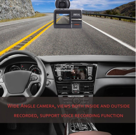 Vehicle DVR Camera Perspective HD1080p