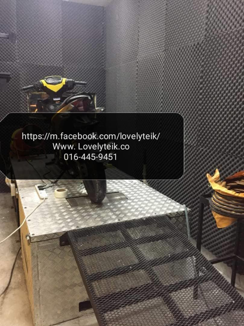 Vehicle showroom dyno workshop MINER FARM soundproof supply