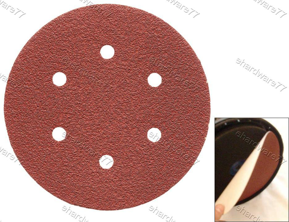 Velcro Backing 120mm (5inch) Disc Sandpaper 10Pcs (SDC05)