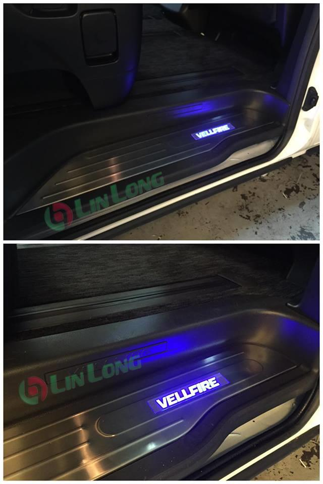 VELLFIRE  2009-2014 SIDE door step led light