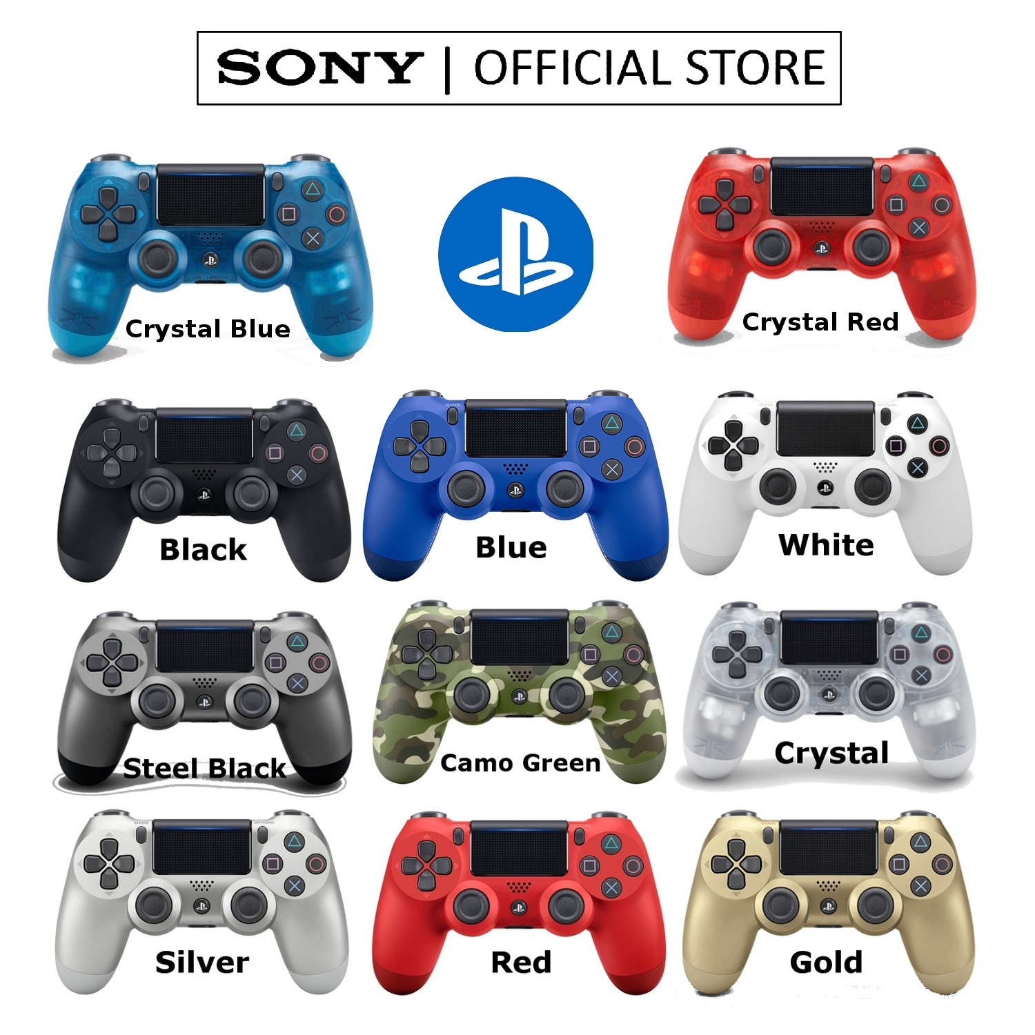 [NEW VERSION 2] SONY WIRELESS PLAYSTATION PS4 DUALSHOCK 4 CONTROLLER CUH-ZCT2G